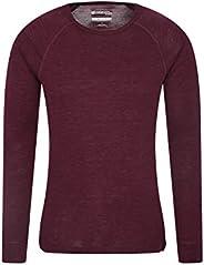 Mountain Warehouse Merino Mens Baselayer Top - Fast Dry T-Shirt