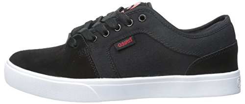 OSIRIS Skateboard Shoes DECAY BLACK/RED