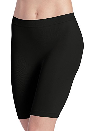 Jockey Women's Underwear Skimmies Slipshort, Black