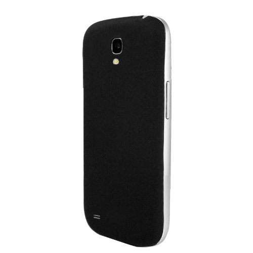KHOMO Samsung Galaxy S4 Black Rubberized Texture Back Cover
