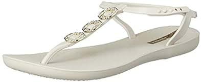 IPANEMA Women's Class II Fashion Sandals, Beige, 10 US