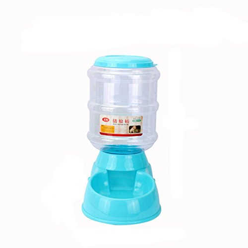 AEB Pet Automatic Feeder Bowl Set 3.5L Pet Dog Bottle Dog for Cat Feeding & Watering Supplies (Blue)