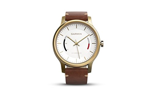 Garmin vivomove Premium Activity Tracker Gold-tone steel 010-01597-23