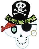 Amscan Skeleton Pirate Halloween Invitations 8/pkg