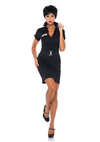Leg Avenue Grease Women's 2 Piece Rizzo Dress And Belt, Black, Small/Medium for $<!--$56.99-->
