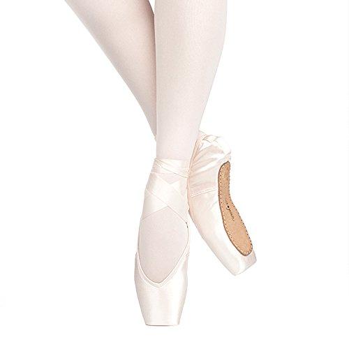 Russian Pointe Rubin Pointe Shoes, V-Cut Flexible Medium Shank