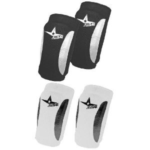 Forearm Football Pads - Pair of 2 (Black and White Available) (Youth (One Size), Black)
