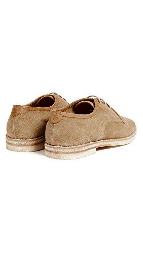 Brogue Beige Sand Zapatos para Hudson de Agadir Hombre Cordones OxB05wzI