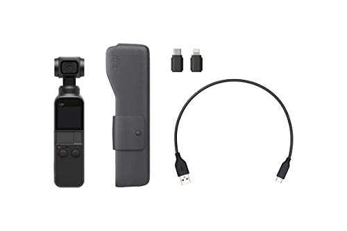 2019 DJI Osmo Pocket Handheld Axis Gimbal Stabilizer with Integrated Camera, Comes 128GB Extreme Micro SD, Attachable To Smartphone, Android, iPhone by DJI (Image #3)