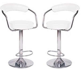 Modern Adjustable Counter Swivel Bar Stools
