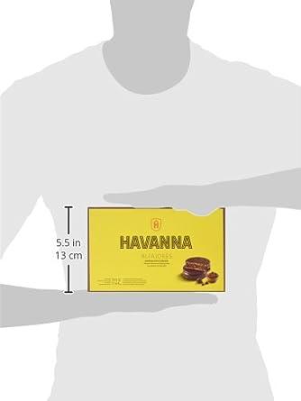 Havanna Alfajores de Chocolate - 330 gr: Amazon.es: Alimentación y bebidas
