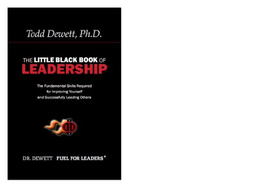 The Little Black Book Of Leadership