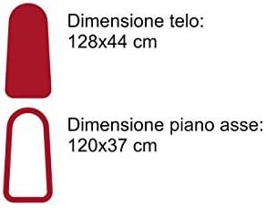 LELIT PA702 Ironing Board Cover-Grey-128x44 cm, Cotton, Image