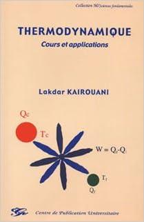 En ligne Thermodynamique Cours et applications pdf