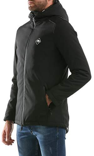 Modello Modello Tessuto Giacca Cappuccio Tecnico Hot con con Buttered Imbottita Barrytown 0S6xqAU
