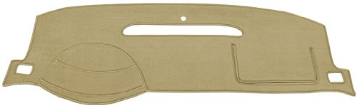 (Seat Covers Unlimited Mercedes 300CD/300D Dash Cover Mat Pad - Fits 1977-1985 (Custom Velour, Tan))