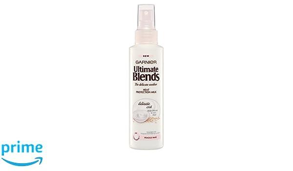 Garnier Ultimate Blends spray de protección térmica con leche de avena, 150 ml, pack de 6: Amazon.es: Belleza