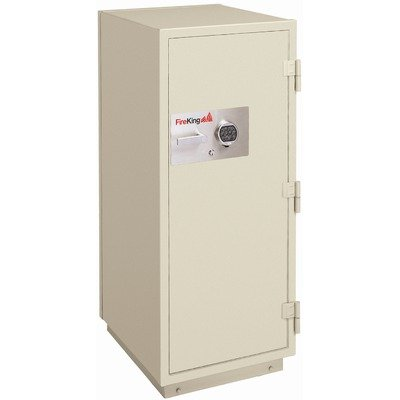 - FireKing KR5021-2 Fire-with-Impact and Burglary Safe (11.2 Cubic Feet - 2 Hour Protection) Color: Taupe, Lock: Combination