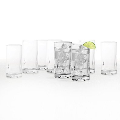 (Dailyware Impressions Glass Coolers (Set of 8) )