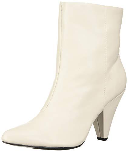 DV by Dolce Vita Women's BOSS Ankle Boot, White Stella, 8.5 M US