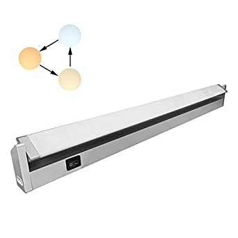 Reglette Led Orientable Avec Interrupteur Luminaire Sous Meuble Lumiere Reglables Pour Cuisine Armoire Placard Escalier Couloir 3000k 4000k 6000k