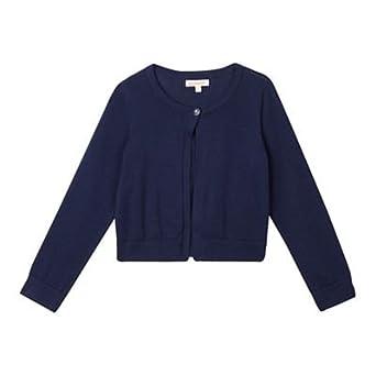 Bluezoo Kids Girls/' Navy Knitted Cardigan