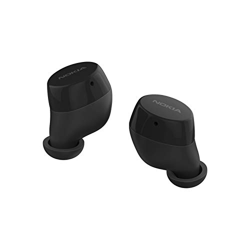 Nokia Power Earbuds | True Wireless with Charging Case | Up to 150 Hours of Play | Waterproof | Universal Bluetooth 5.0 Compatibility with Built-in Mic | Crystal-Clear Sound with Enhanced Bass
