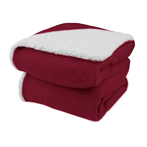 Biddeford Comfort Knit Electric Heated Throw Blanket with Na