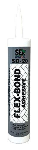 SEK Surebond SB-20 Flexbond Q Silyl-terminated Polyether (Hybrid) Elastomer, 1/8