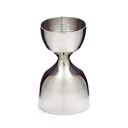 Cocktail Kingdom Leopold Jigger - 1oz/2oz - Stainless Steel by Cocktail Kingdom