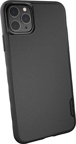 Smartish Apple Iphone 11 Pro Max 6 5 Slim Case Hülle Kung Fu Grip Bumper Leichte Schlanke Schutzhülle Silk Cover Black Tie Affair Schwarz Elektronik