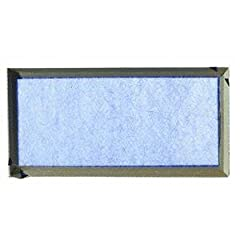 This is a standard grade furnace filter of the same type that has been protecting furnaces and central air conditioners around the world for over 50 years. The filtering medium is continuous filament spun glass. The frame is made with one con...