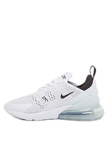 Uomo Ginnastica Nike White 270 Scarpe Black da White Bianco Air Max rqwCYxgq