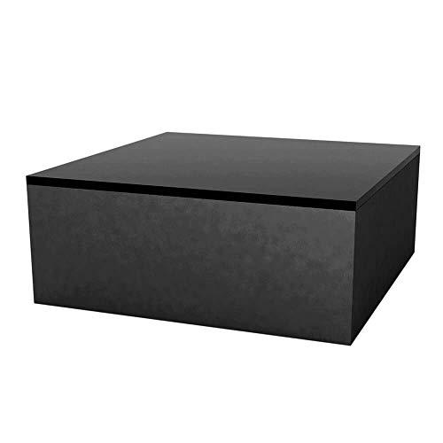 Vondom Quadrat mesa baja de exterior 80x80 h.32 cm negro: Amazon ...
