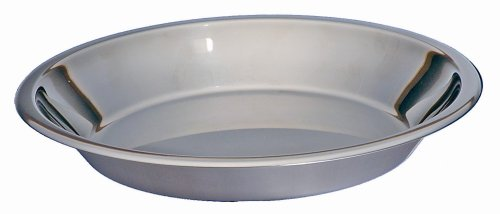 Amazon.com Kitchen Supply Stainless Steel Pie Pan 9-inch Pie Plate Kitchen \u0026 Dining  sc 1 st  Amazon.com : metal pie plates - pezcame.com