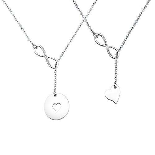 06da078442d Zuo Bao Mother and Daughters Necklace Set Mother Daughter Lariat Y Necklace