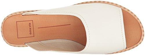 Dolce Vita Kvinnor Poe Slide Sandal Off Vitt Läder