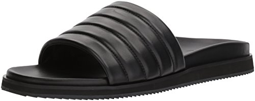 Kenneth Cole New York Men's Story B Flat Sandal, Black, 13 M (Kenneth Cole Rubber Sole Sandals)