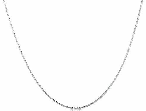 Sterling Italian Crafted Necklace Lightweight