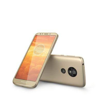 "Motorola Moto E5 Play 16GB XT1920 Dual SIM 5.3"" LTE Factory Unlocked Smartphone - International Version (Gold) from Motorola"