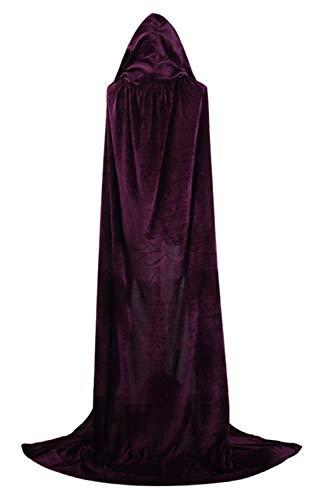 Viola Halloween Costume Donne Mantelli Incappucciato Dimensioni Sopliagon Di Cosplay Più Le RwC6FT