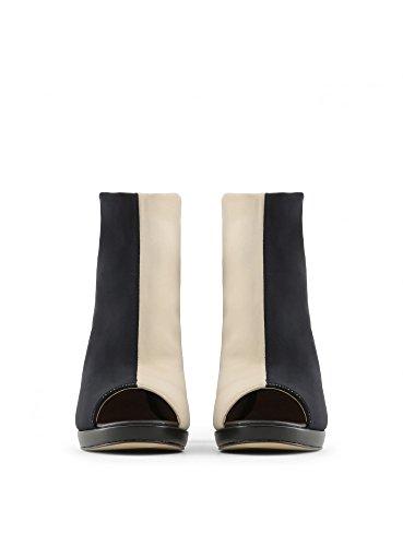 in ZAMA Negro Italia 5 Botines cm Mujer 9 cm 1 Tacón Plataforma Para Made dqOEHO