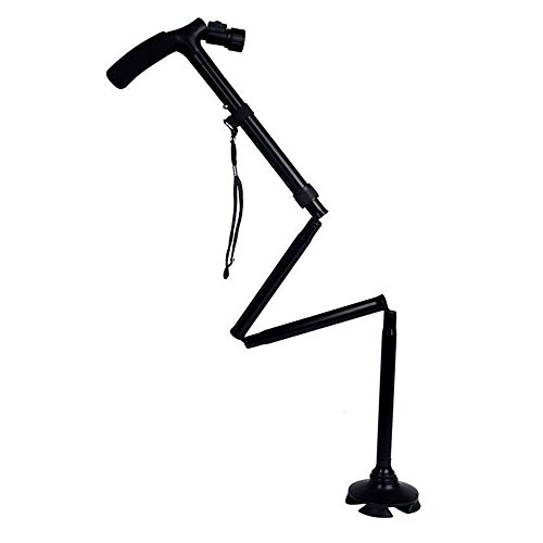 Trusty Cane with Built-In Lights (Black) - 5