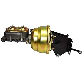 "1974-86 Jeep CJ5 CJ7 7/"" single diaphragm power brake booster master cylinder"