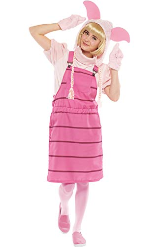 Disney Winnie the Pooh Costume - Casual Piglet Costume - Teen/Women's STD Size ()