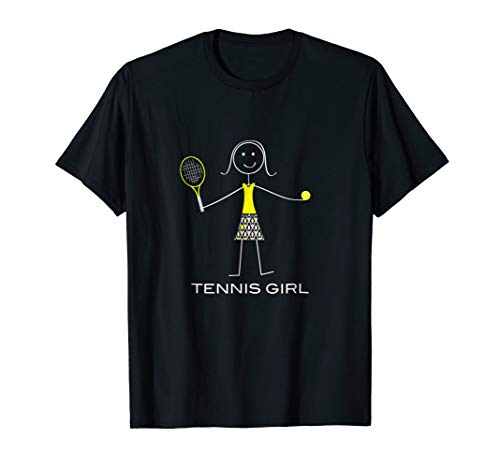 - Funny Tennis T-Shirt for Women, Tennis Player Gifts for Girl