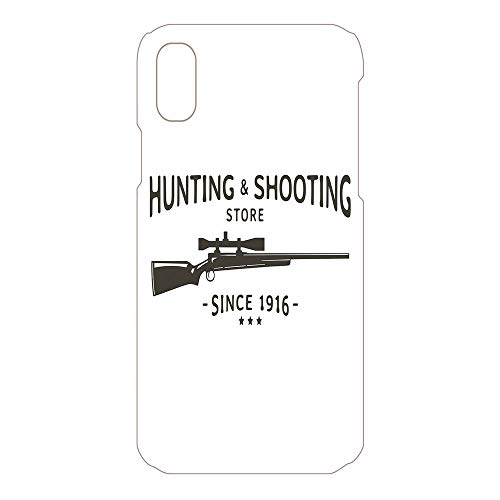 Phone Case Compatible 3D Printed 2018 Apple iPhone Xs MAX DIY Fashion Picture,Sign Hunting Shooting Store Rifle,Lovely Personalized Hard Plastic Phone Case Fashion Stylish ()
