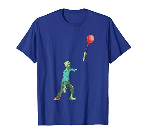 Zombie Birthday Balloon Shirt - Funny Zombie Shirts