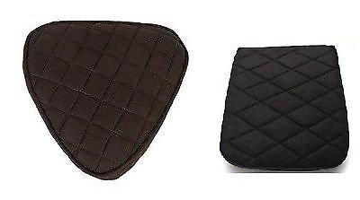 - IND STURGIS Motorcycle Seat Gel Pads Driver and Back Seats Set for Honda VTX 1300 1800 Models