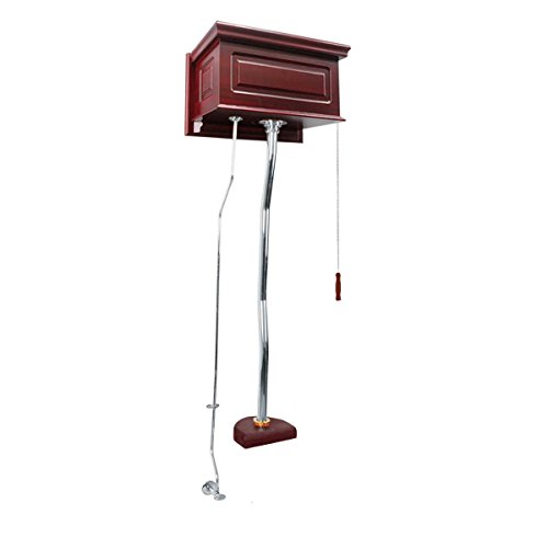 Cherry High Tank Pull Chain Toilet Conversion Kit Chrome | Renovator's Supply ()